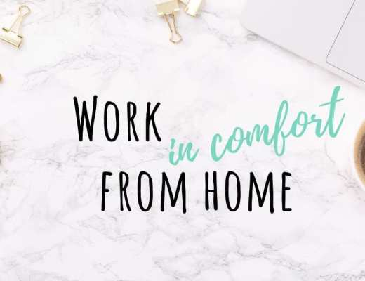 Work from home in comfort