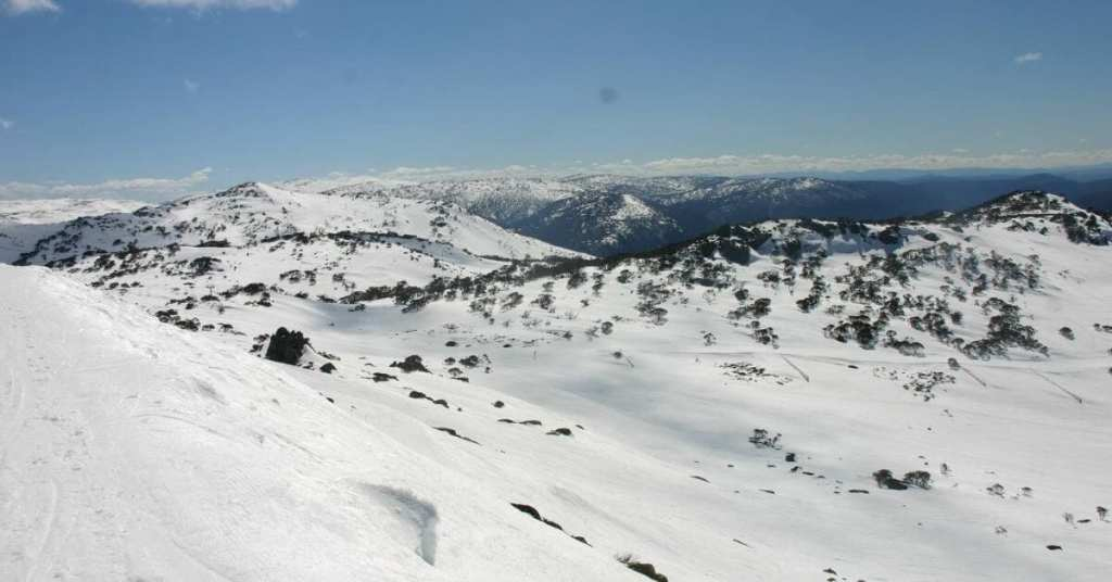 Stunning views from Blue Cow Perisher