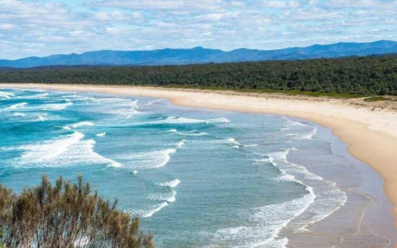 Broulee beach Batemans Bay