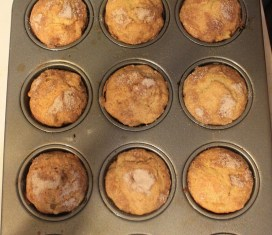 Apple Sour Cream Muffins | The Lazy Vegan Baker