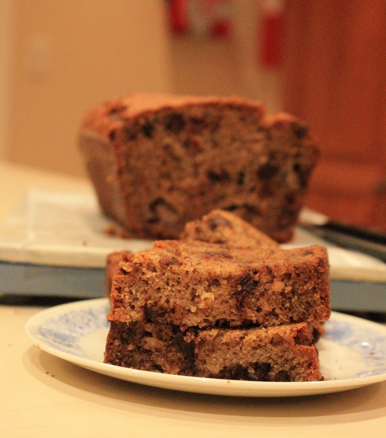 Favorite Chocolate Chip Banana Bread | The Lazy Vegan Baker