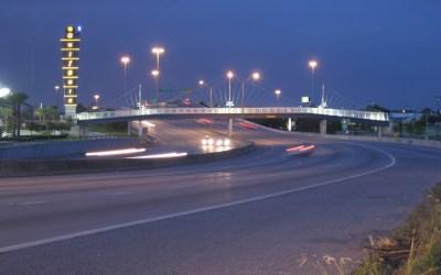 Gulfgate Pedestrian Bridge