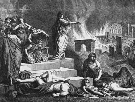 Image result for rome burning