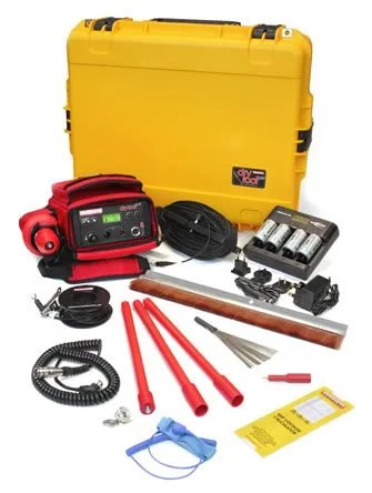 Flat roof leak detection kit