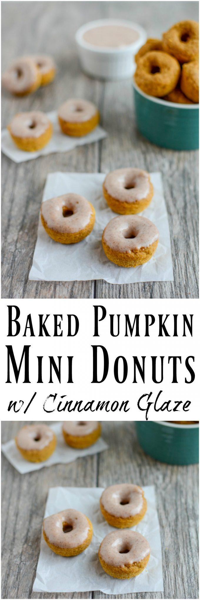 Make these Baked Pumpkin Donuts for a weekend breakfast treat or a fun dessert Enjoy them plain or with an easy cinnamon glaze.