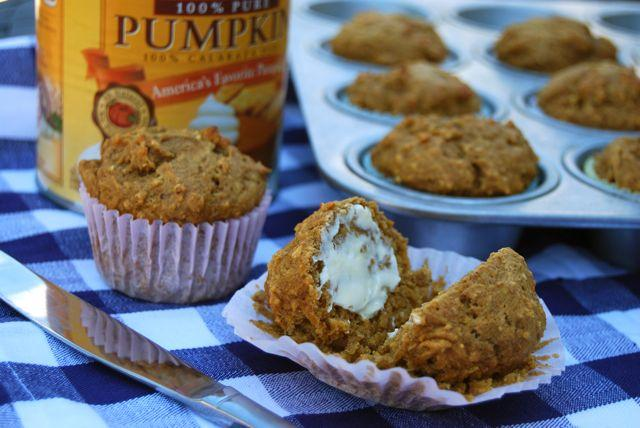 These Whole Wheat Pumpkin Muffins are lower in sugar than most recipes and filled with whole grains!