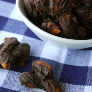 PB Chocolate Almond Clusters