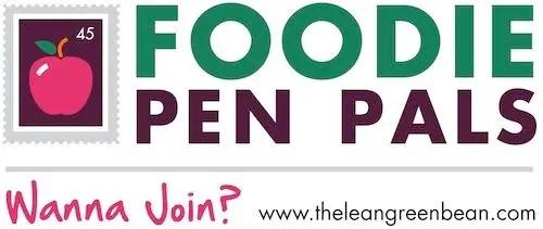 FPP post Foodie Penpals