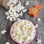 Healthy Microwave Popcorn