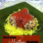 Black Bean Meatless Meatballs