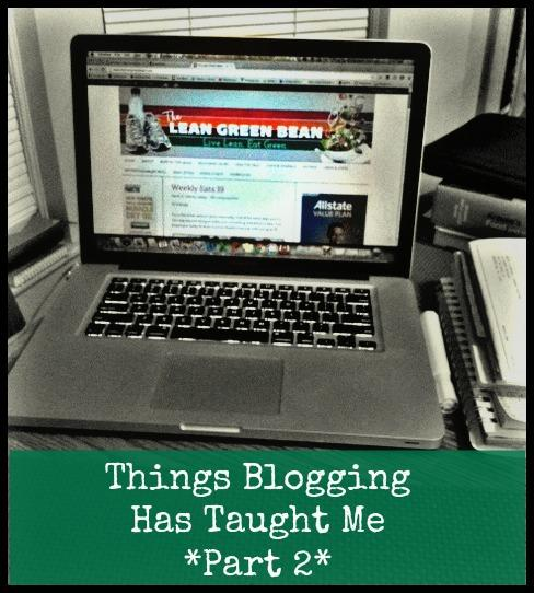 Whether you're a new or veteran blogger, there's always something to learn. Here are a few lessons blogging has taught me.