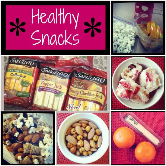 Hungry? Here are some healthy snack ideas from a Registered Dietitian! Perfect for kids and adults.