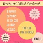 Backyard Blast Workout