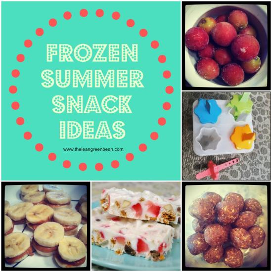 When the weather heats up, these 5 Frozen Summer Snacks will help you beat the afternoon slump!