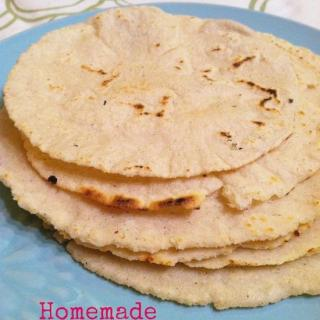 Homemade Corn Tortillas and Tortilla Chips