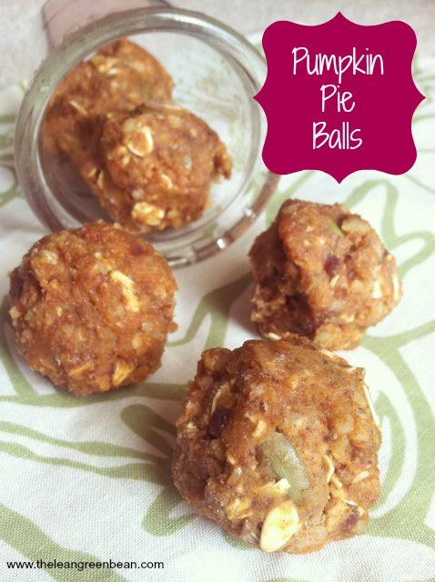 These Pumpkin Pie Balls are packed with healthy fats and fiber, sweetened with dates and make the perfect snack!