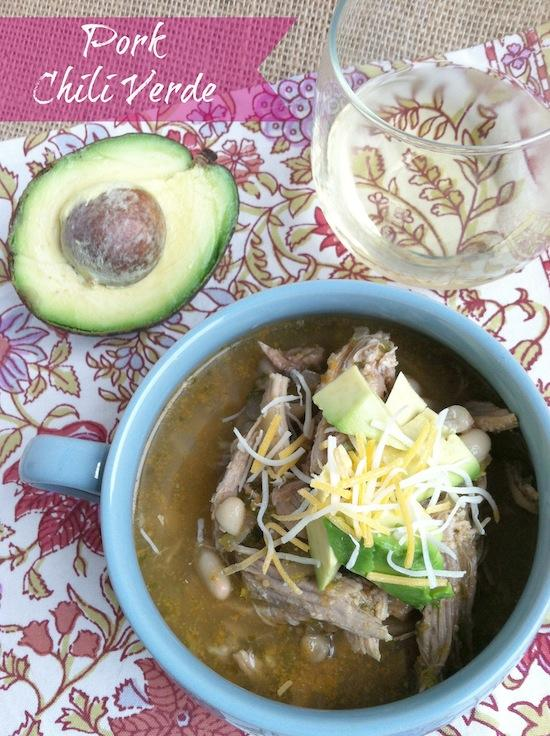 A great way to use up leftover pork, this soup is full of flavor and super healthy!