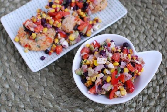 Change things up from a tomato based salsa and try this Wild Blueberry Corn Salsa. Serve it over chicken for dinner or with chips for an appetizer!