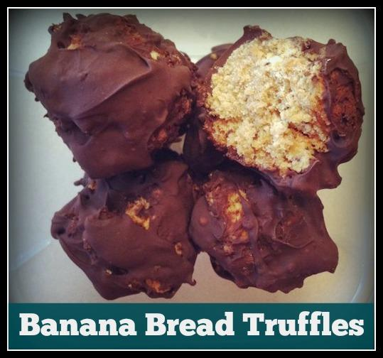 A fun way to use up leftover banana bread! Peanut butter, chocolate and bananas are a winning combination!