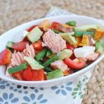 Salmon Chop Salad