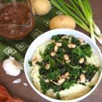 Vegan Cauliflower Mash Bowls