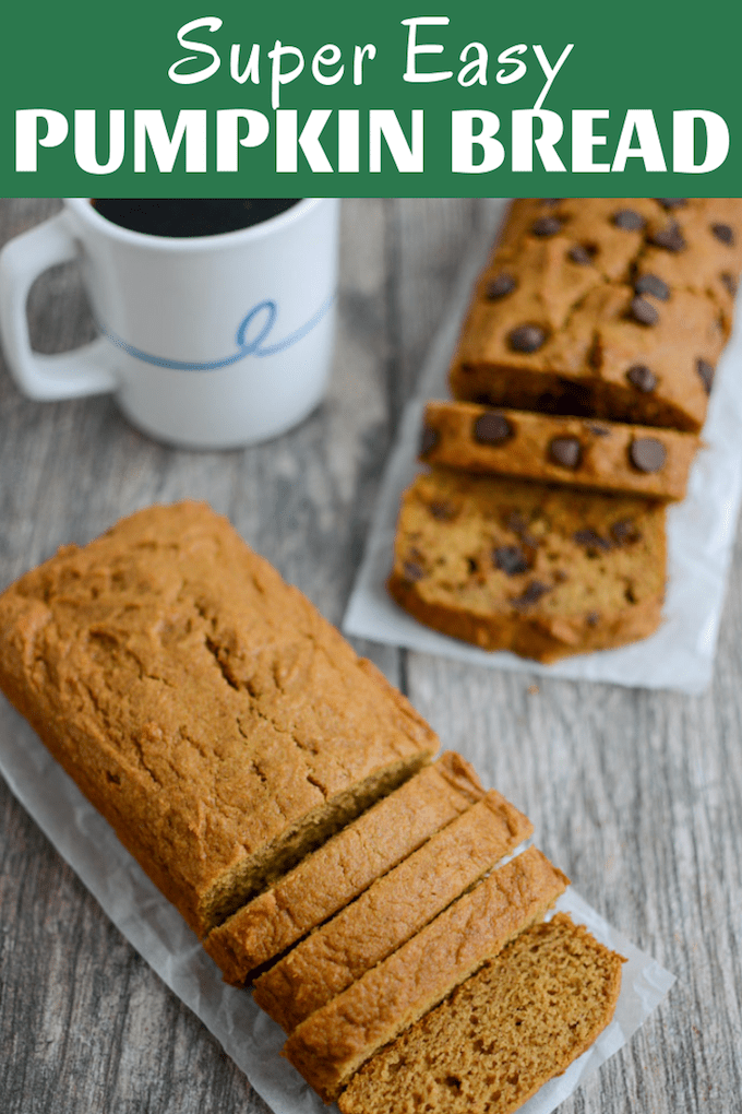 This Easy Pumpkin Bread will become your go-to quick bread recipe for fall. Just one bowl, a handful of ingredients and the perfect loaf every time. Customize with your favorite mix-ins or try baking two mini loaves and giving one for a friend!