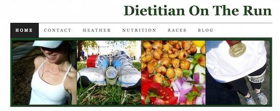 dietitian on the run