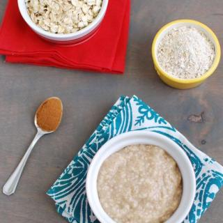 Homemade Oat Cereal For Babies
