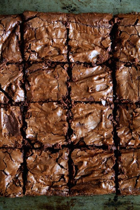 Flourless Double Chocolate Brownies