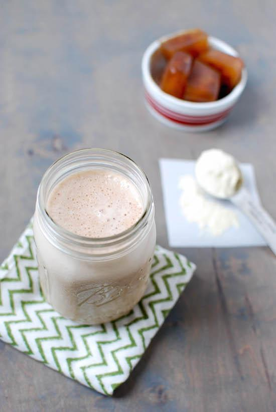 Made with just a few ingredients, this Coffee Protein Shake is the perfect way to refuel after a tough workout!