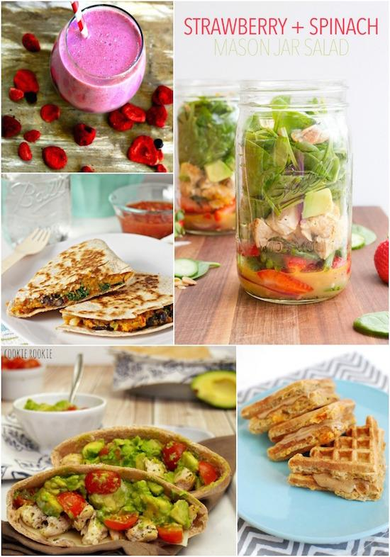 Grab and Go Lunch Ideas