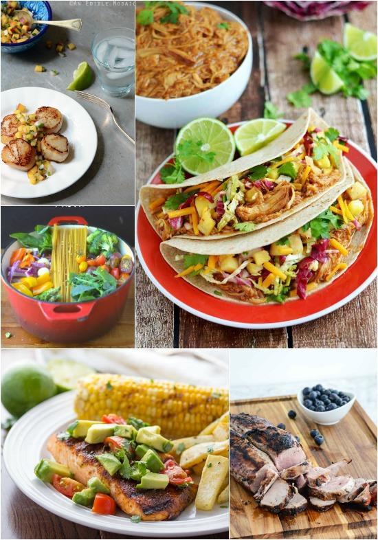 A Week of Summer Dinner Ideas
