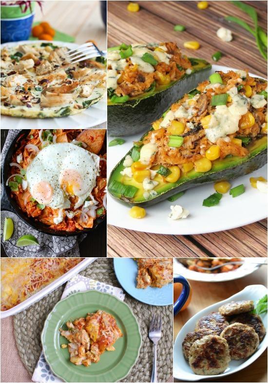 A Week of Breakfast Ideas with Chicken