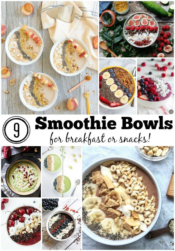 9 Smoothie Bowl Recipes for Summer
