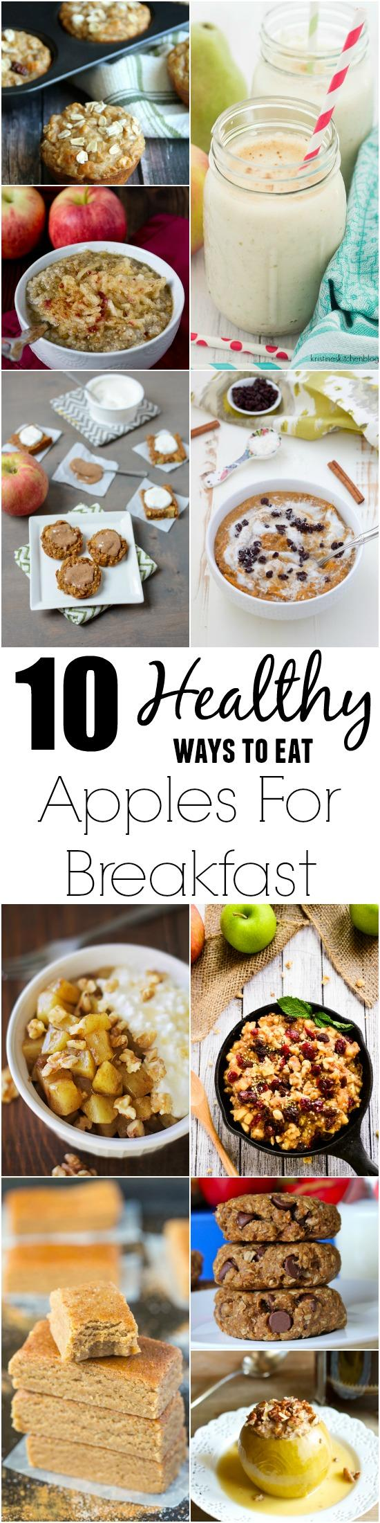 10 Healthy Ways To Eat Apples For Breakfast