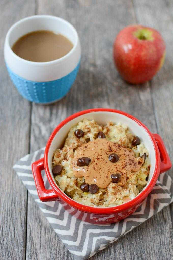 Learn how to cook oatmeal with an egg - an easy way to add some extra protein to breakfast!