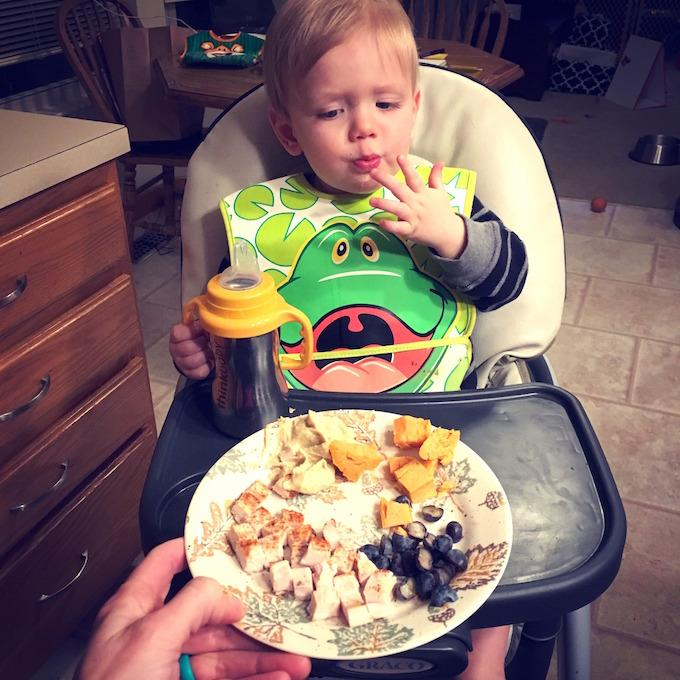 Dinner 10 Month Old