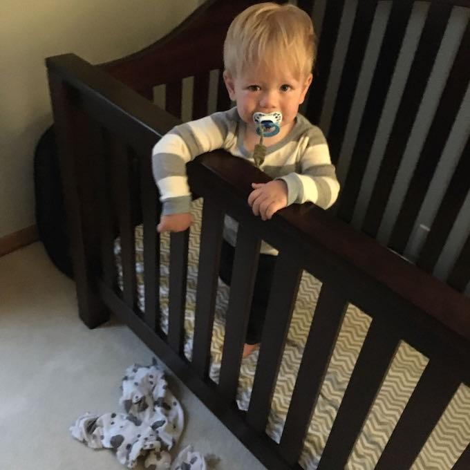 day in the life - 18 months old