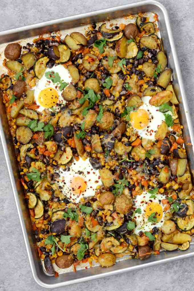 sheet pan breakfast hash