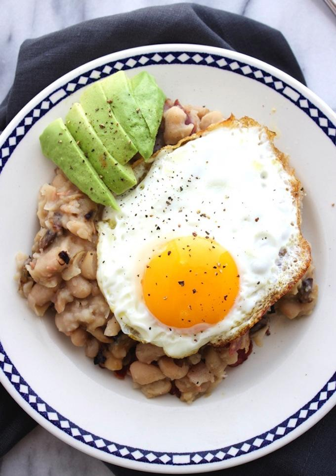 White Bean Breakfast Hash