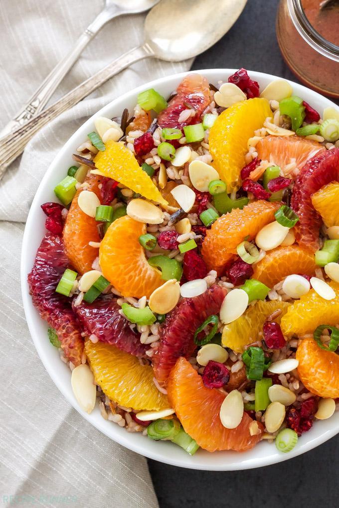 Citrus & Wild Rice Salad