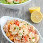 Greek Shrimp and Farro