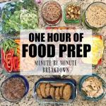 My Weekly Food Prep {By The Minute}
