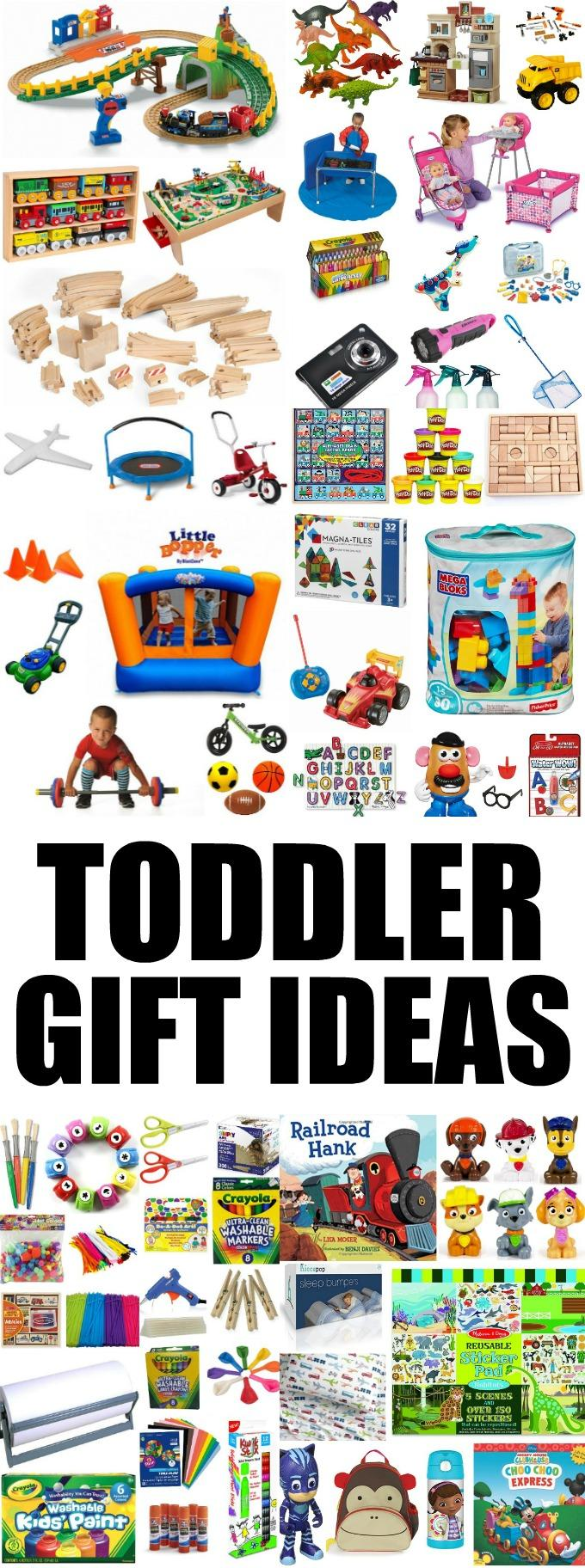 These Toddler Gift Ideas make perfect birthday presents, Christmas gifts or everyday surprises. Grab one for your son or daughter or one of their friends!