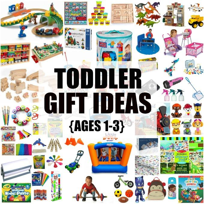 These Toddler Gift Ideas makeperfect birthday presents, Christmas gifts or everyday surprises. Grab one for your son or daughter or one of their friends!