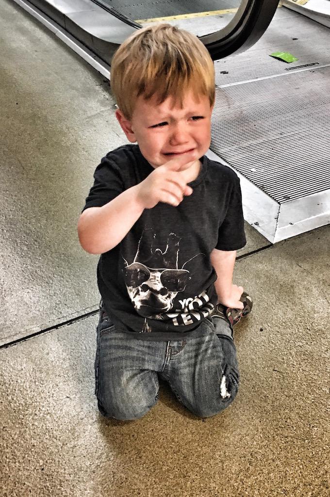 emotional 3 year old