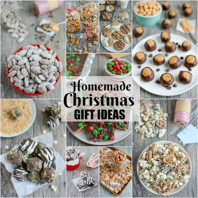 Homemade Edible Christmas Gift Ideas