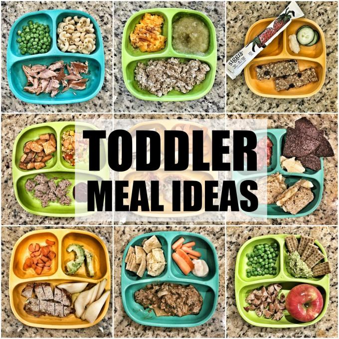 Use these Toddler Meal Ideas to inspire some easy, healthy new breakfasts, lunches and dinners for your kids!