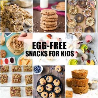 simple egg-free snacks for kids