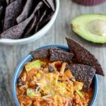 This Sweet Potato Chicken Chili can be made in the Instant Pot or slow cooker for an easy, healthy dinner. And the leftovers make the perfect packable lunch.